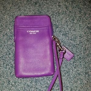 Coach Legacy Ultraviolet universal case 62801